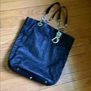 Dior leather tote new beautiful
